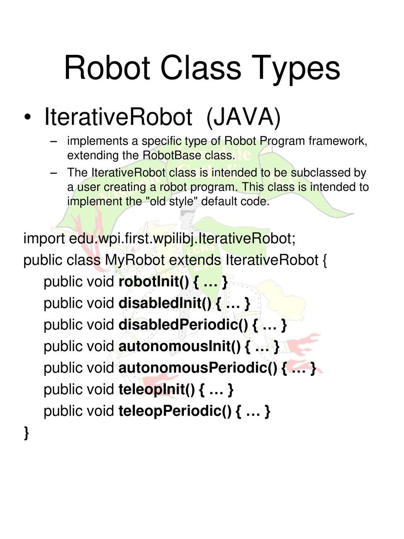 robot class in java