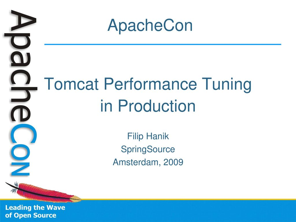 Tomcat Performance Tuning - ppt download