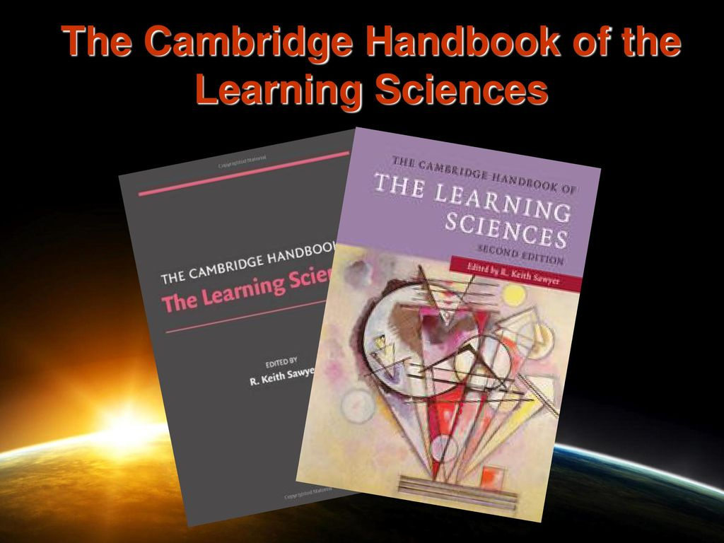 the cambridge h andbook of the learning sciences sawyer r keith
