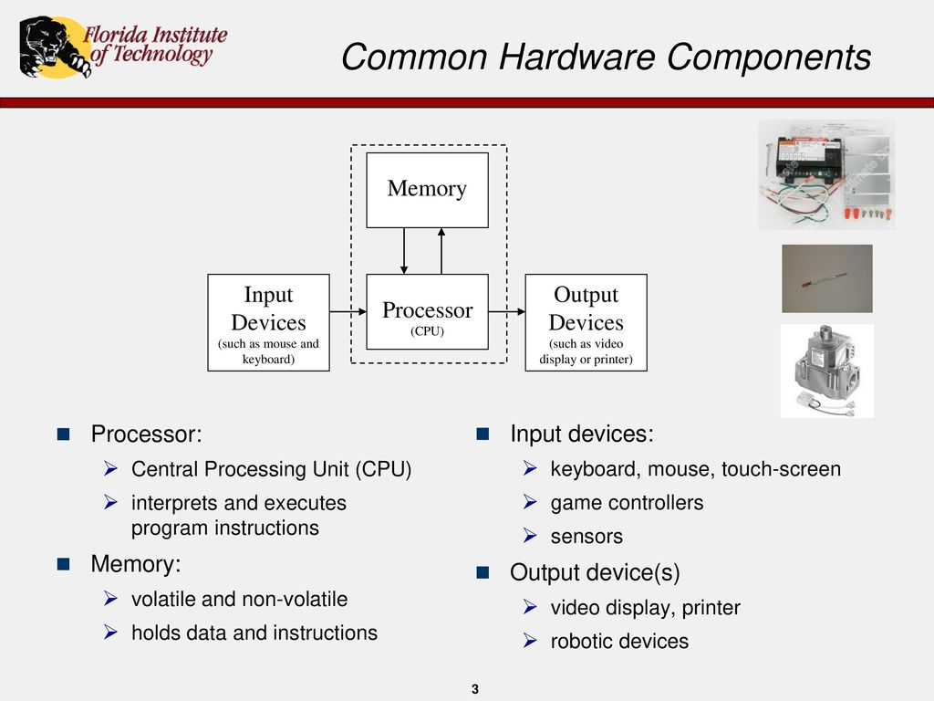 Introduction To Computers And Programming Ppt Download Diagram Of Computer Components Mouse Monitor Cpu Etc Common Hardware