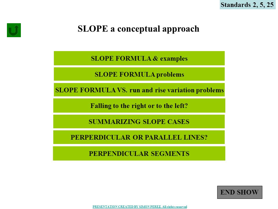 SLOPE a conceptual approach