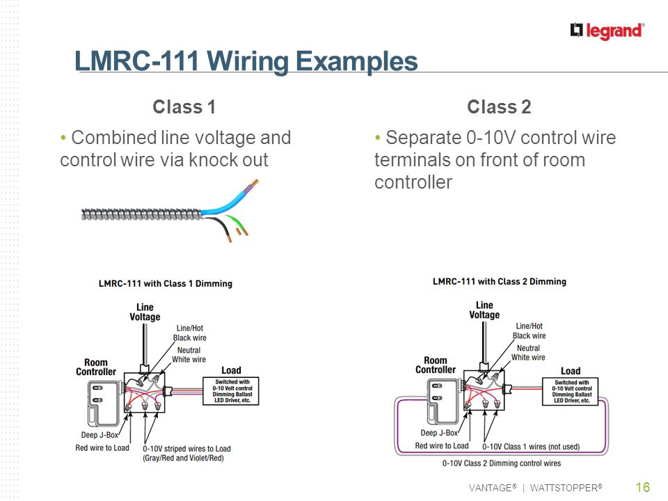 LMRC Series Room Controllers Ppt Video Online Download - Watt stopper power pack wiring diagram