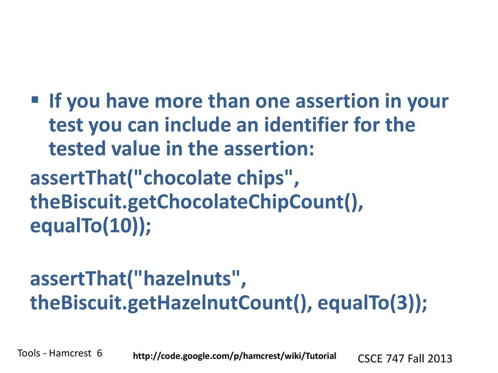 CSCE 747 Software Testing and Quality Assurance - ppt download