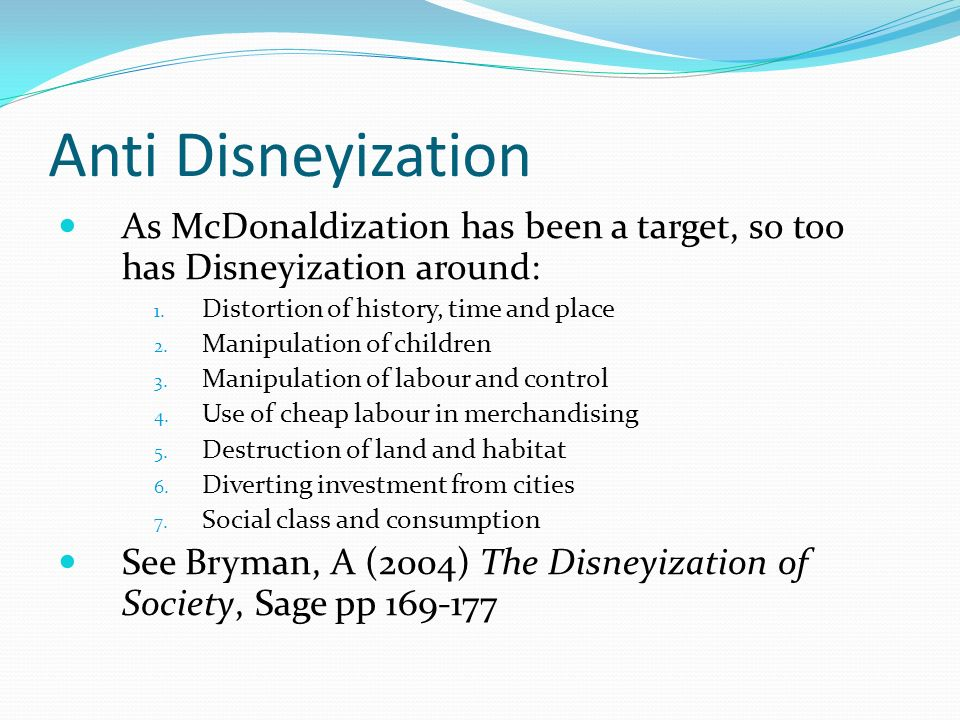 Mcdonaldization Of Society Ebook