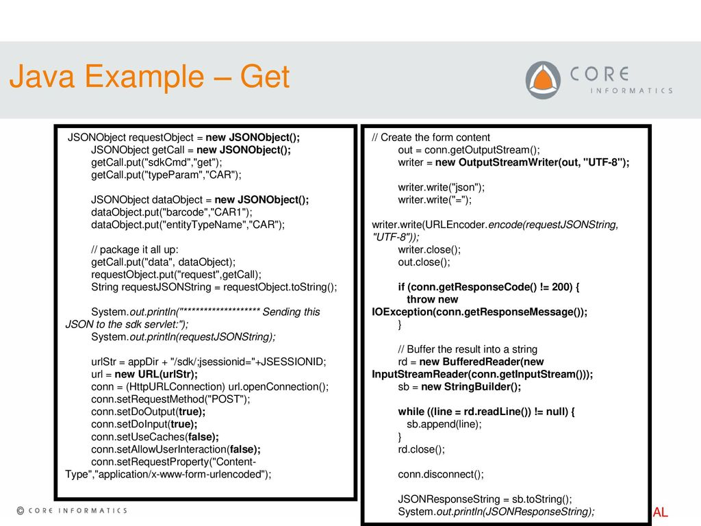 JSON Web Service – Tips & Examples - ppt download