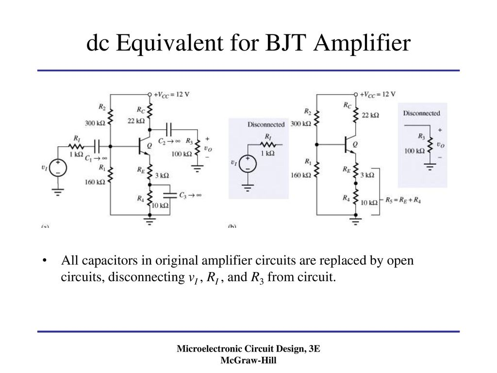 Linear Amplifier Circuit Power Opamp Cascade Diagram Tradeoficcom Chapter Small Signal Modeling And Amplification Ppt 1024x768