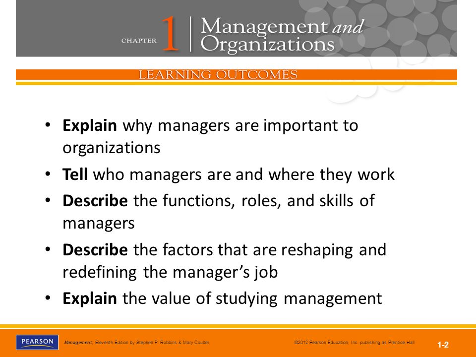 why management