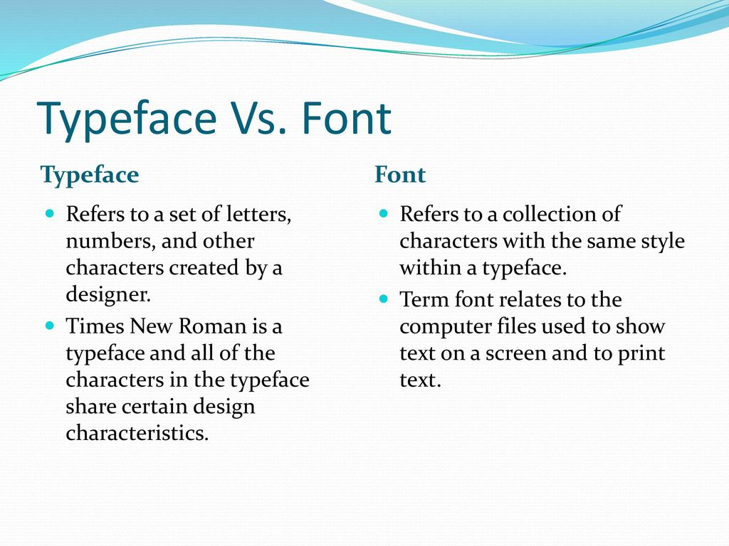 Multimedia--Print Type - ppt download