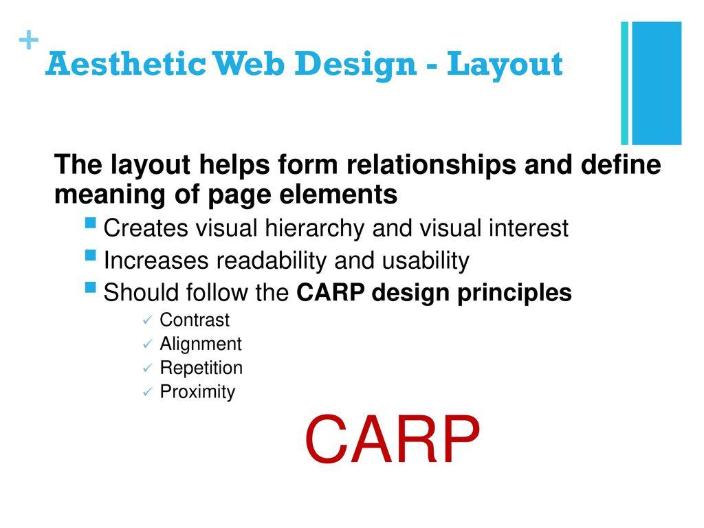 Lesson 1 Principles Of Web Design Ppt Download