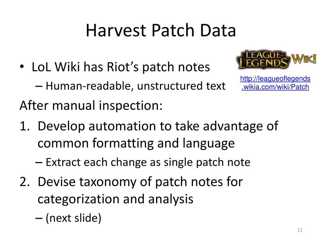 Lol Wiki Patch