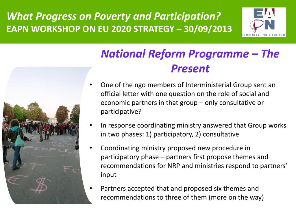 What Progress on Poverty and Participation? - ppt download