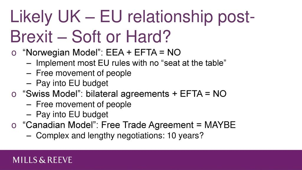 Brexit Legal And Tax Consequences From A British Perspective Ppt
