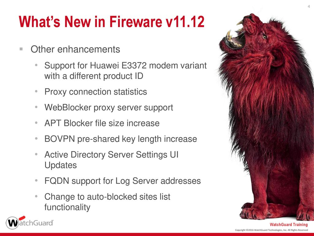 What's New in Fireware v ppt download