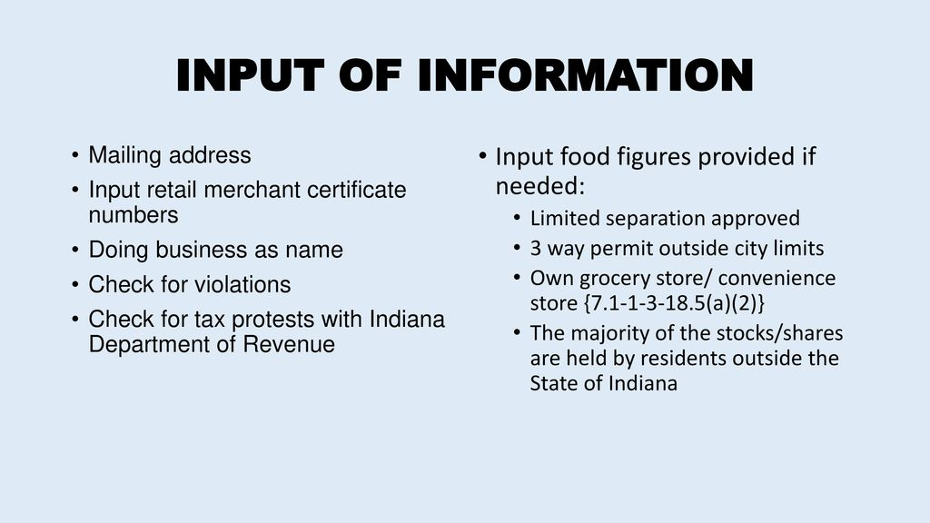 Indiana Alcohol And Tobacco Commission Ppt Video Online Download