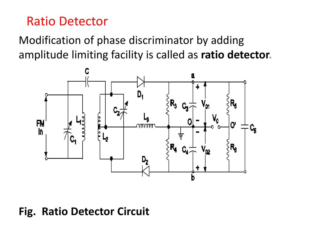 Radio Receiver Marks Ppt Video Online Download Envelope Detector Circuit Output Ratio Modification Of Phase Discriminator By Adding Amplitude Limiting Facility Is Called As