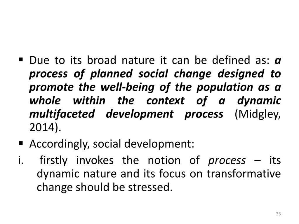 introduction to the concepts of social development - ppt download