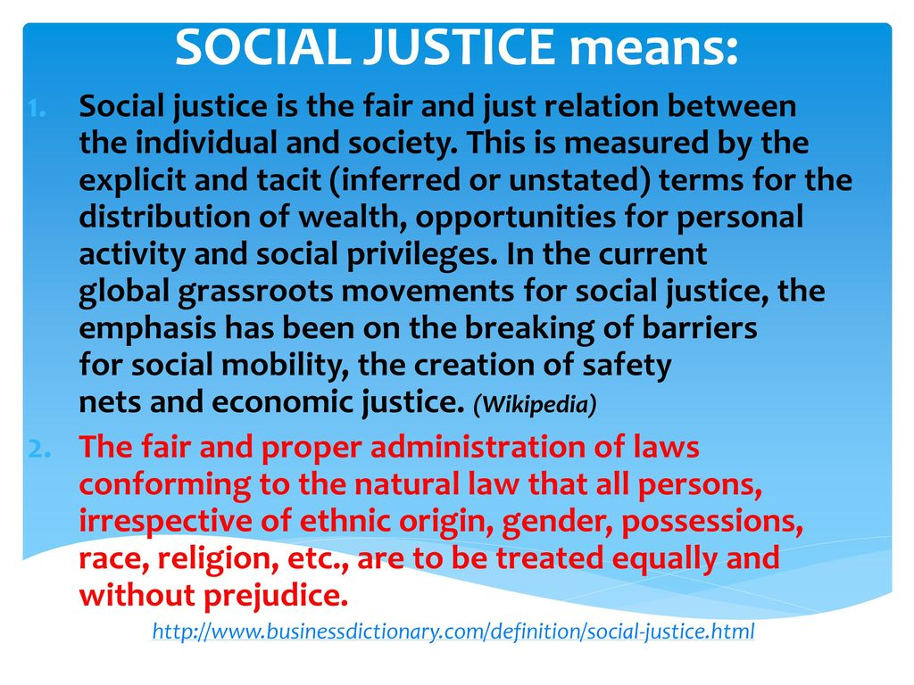 individual justice definition