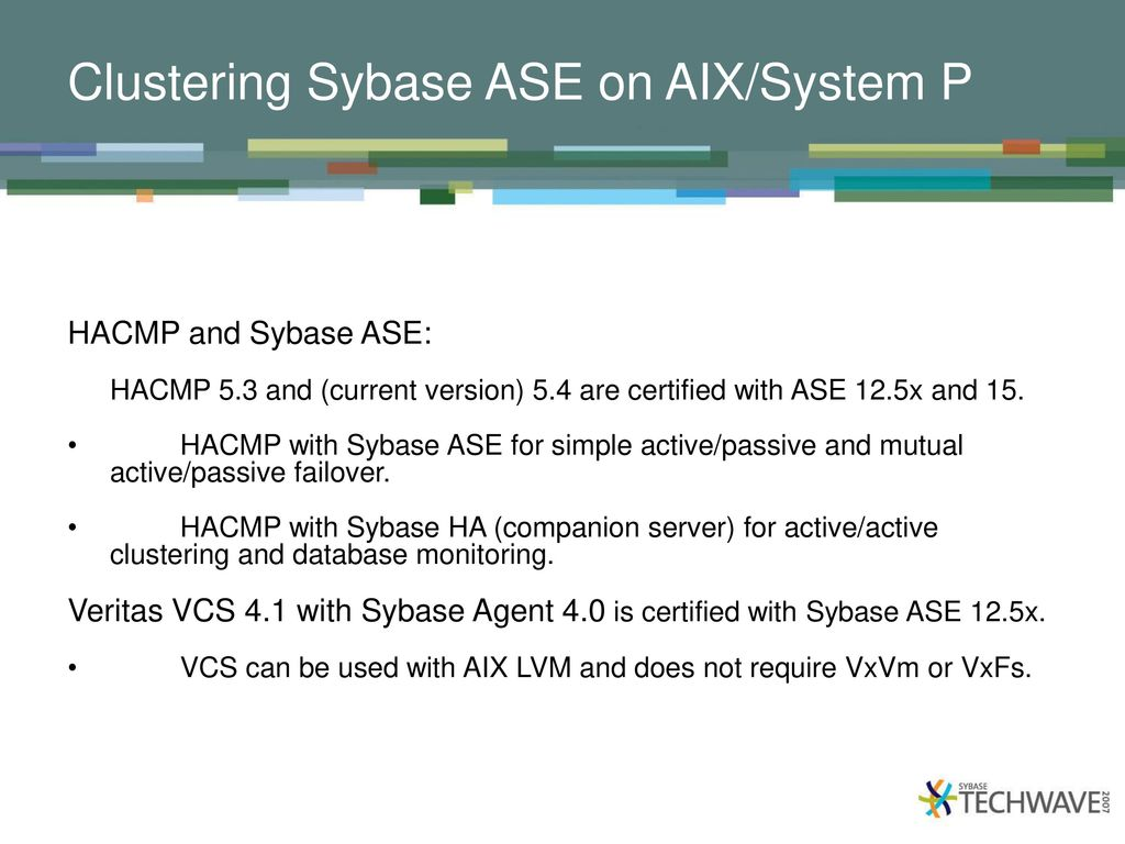 Optimizing Sybase Ase On Aix 5l Ppt Video Online Download