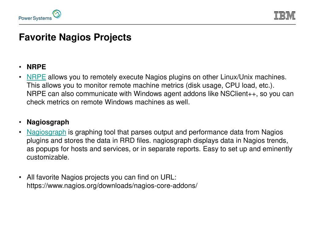 Monitoring IBMi by Nagios Core & Nagiosgraph - ppt video