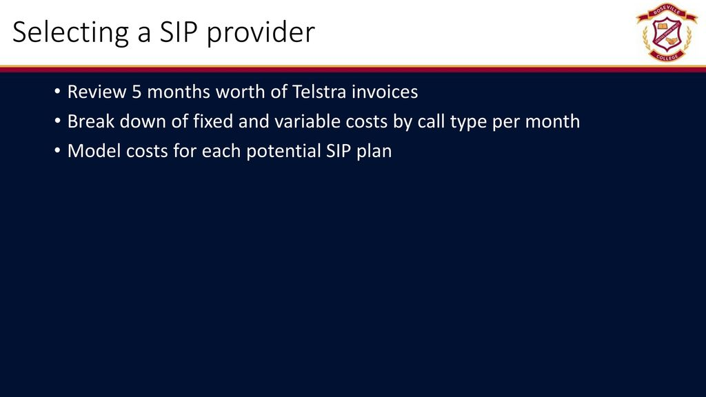 Managing a VOIP Project - ppt video online download