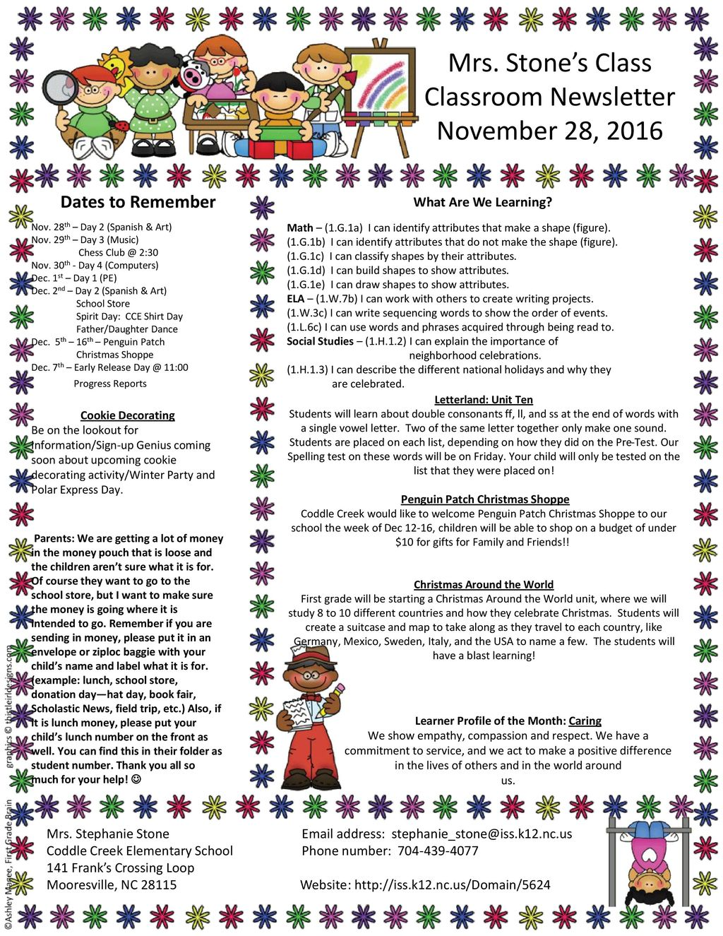 christmas around the world learner profile of the month caring - Christmas Around The World Decorations For A Party