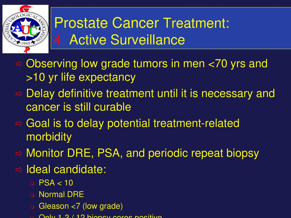 prostate cancer stage 7 life expectancy