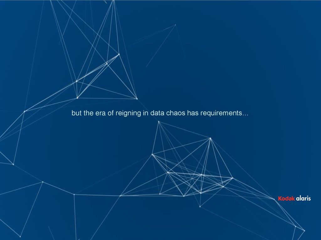 The Rise of Data CHAOS Driving Growth through Digital