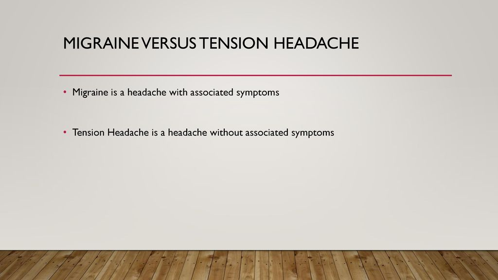 Primary Headache disorders - ppt download