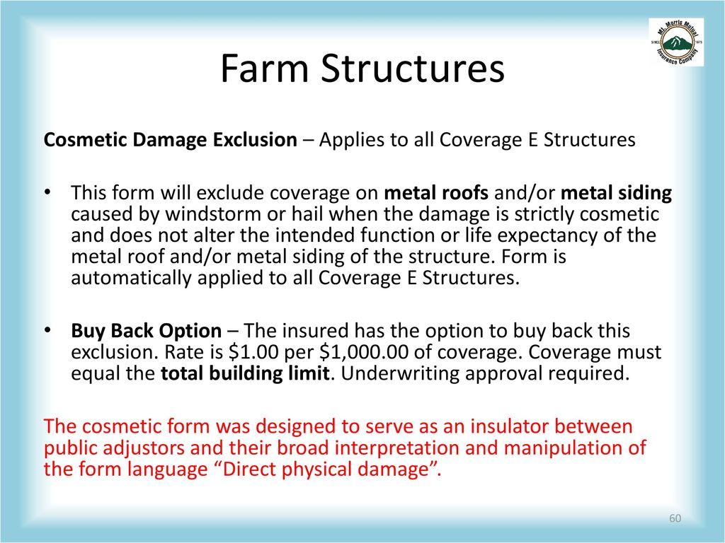 Farm Insurance Ppt Download