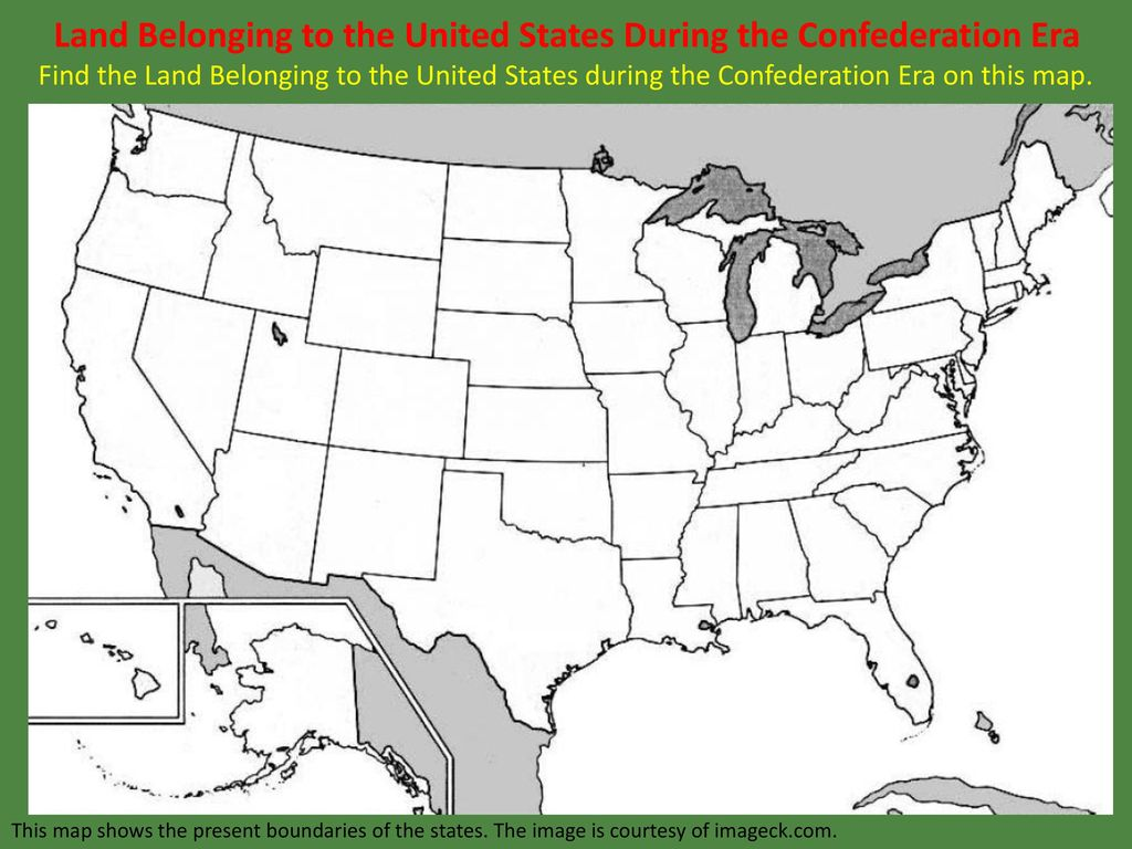 Find A Map Of The United States.Leq What States Were Formed From The Northwest Territory Ppt