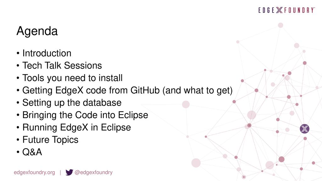 Getting Started as an EdgeX Developer - ppt download