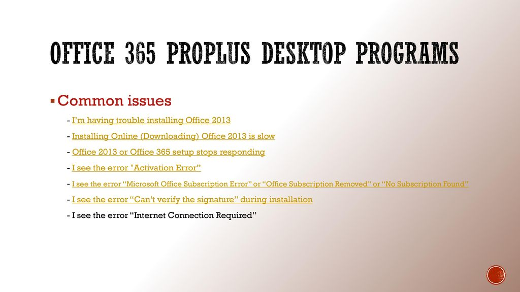 Office 365 Help Desk Troubleshooting Guide - ppt video