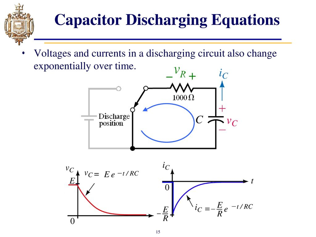 Lesson 12 Capacitors Transient Analysis Ppt Video Online Download Capacitor Charger Circuit Discharging Equations