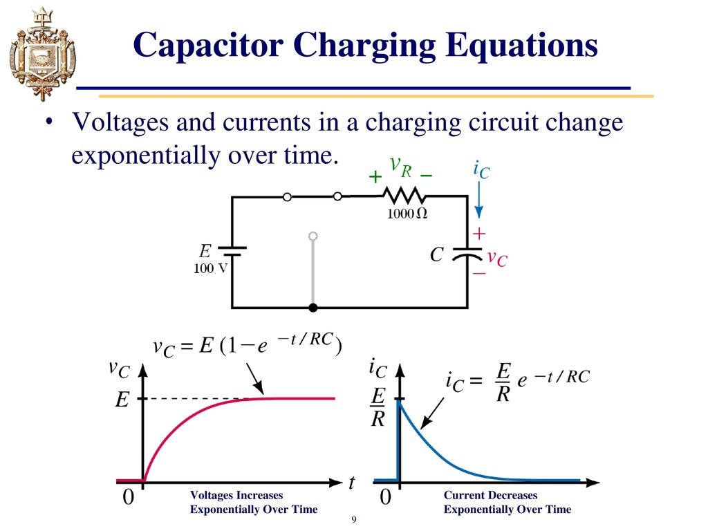 Lesson 12 Capacitors Transient Analysis Ppt Video Online Download Rc Circuits Charging Capacitor Equations