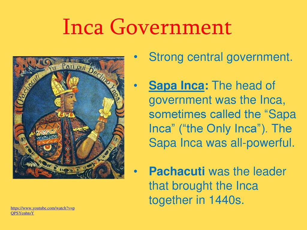 inca government facts