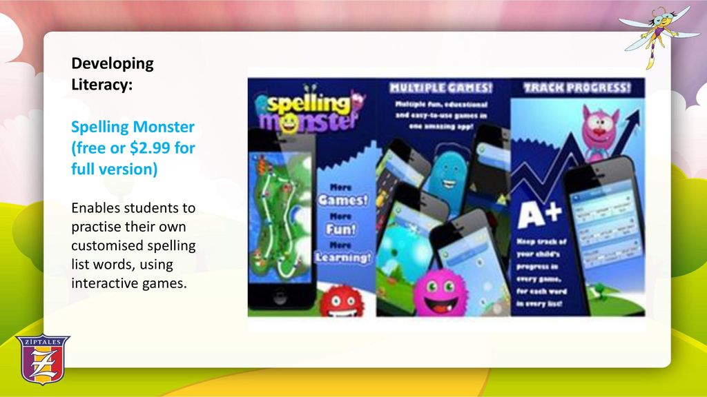 Selecting the Best Apps for Literacy Development - ppt download