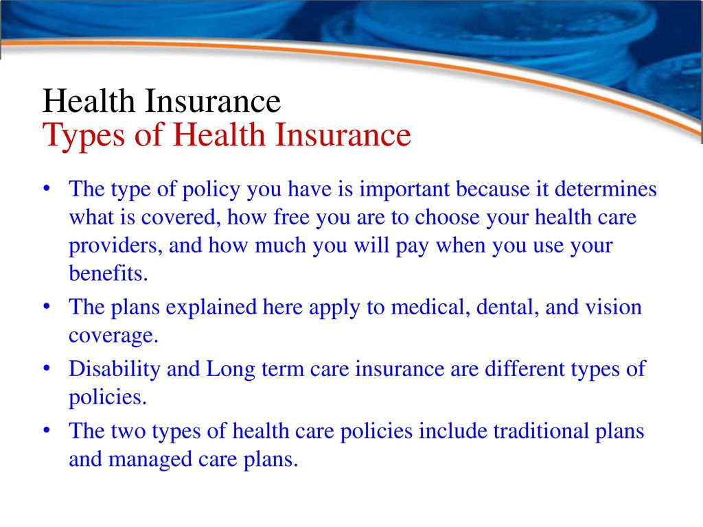 Image result for health insurance type and benefit
