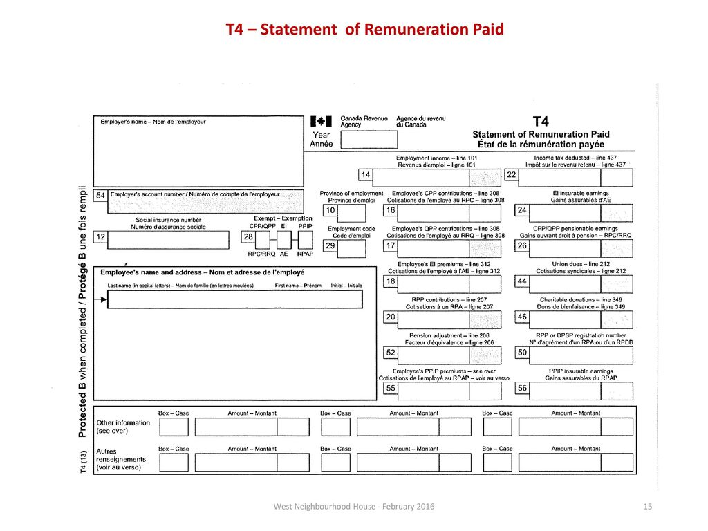 By Photo Congress || Canadian Statement Of Remuneration Paid