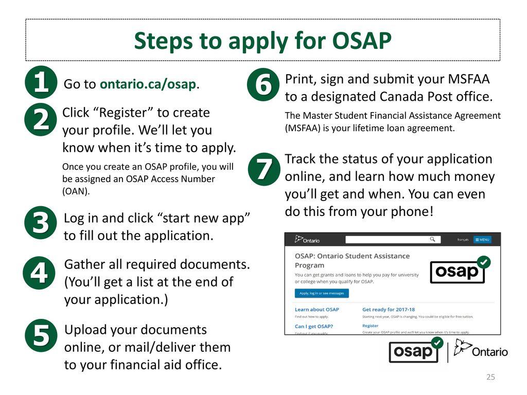 Ontario Student Assistance Program Ppt Video Online Download