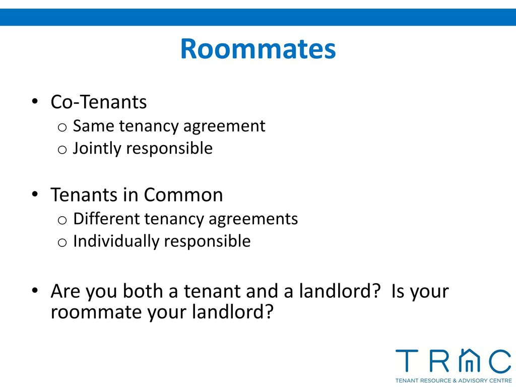 Residential Tenancy Law In British Columbia Ppt Download