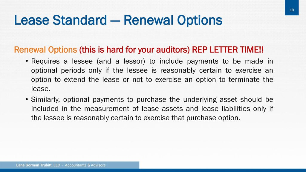 lease accounting overview ppt download