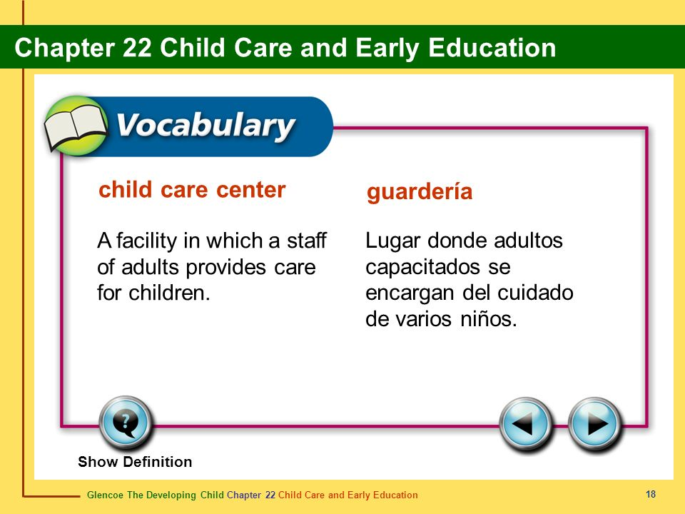 child care center guardería