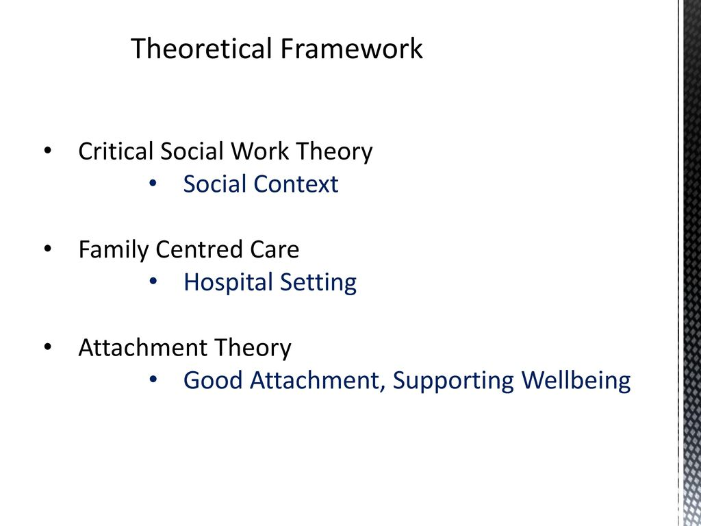 attachment theory social work