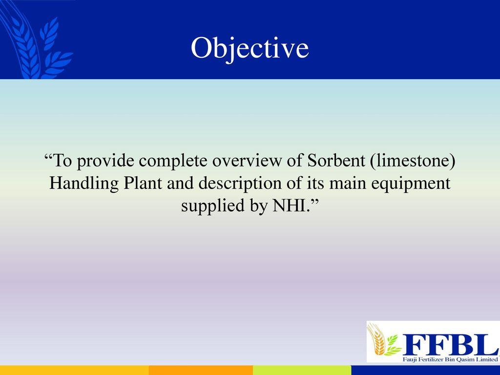 Sorbent Handling Plant By Nhi Design Amp Equipment