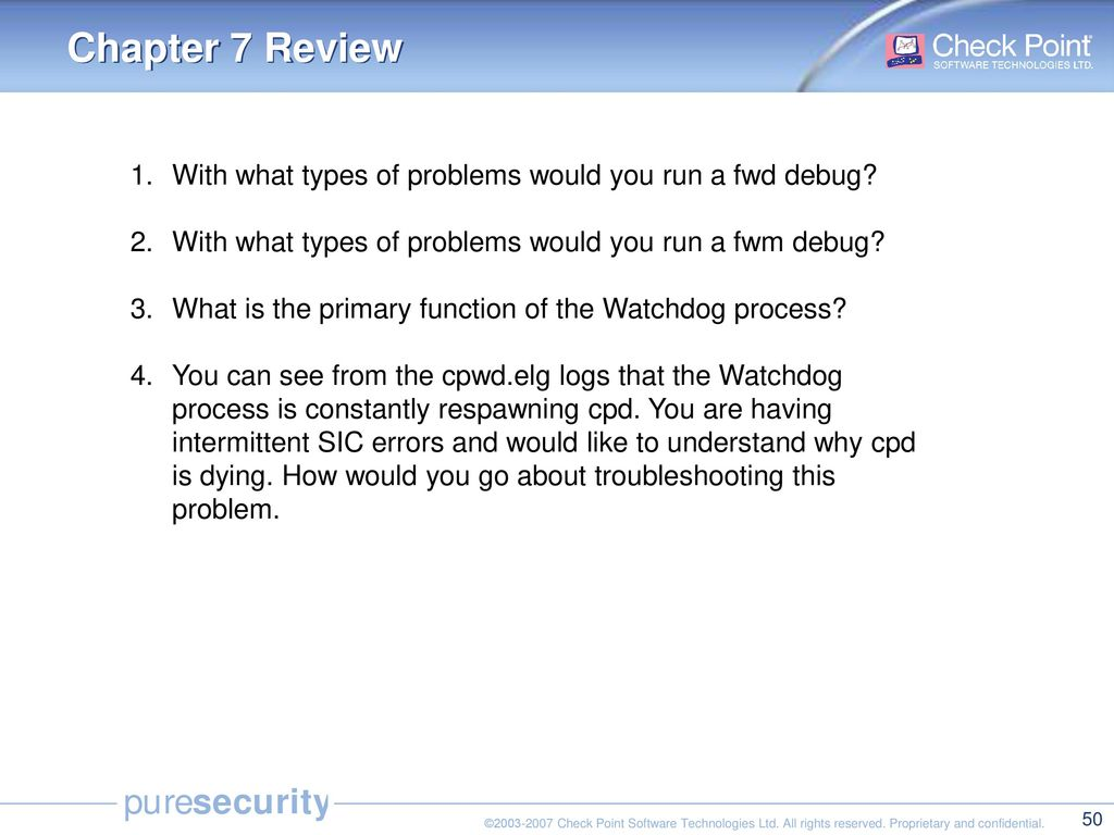 Check Point Security Administration NGX III - ppt download