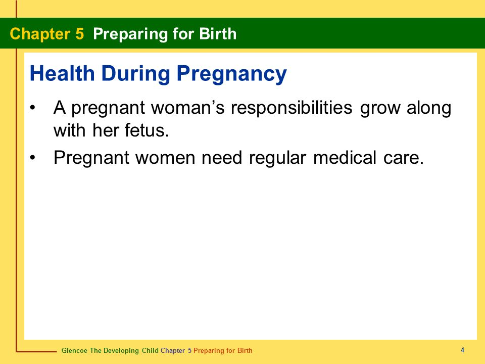Health During Pregnancy