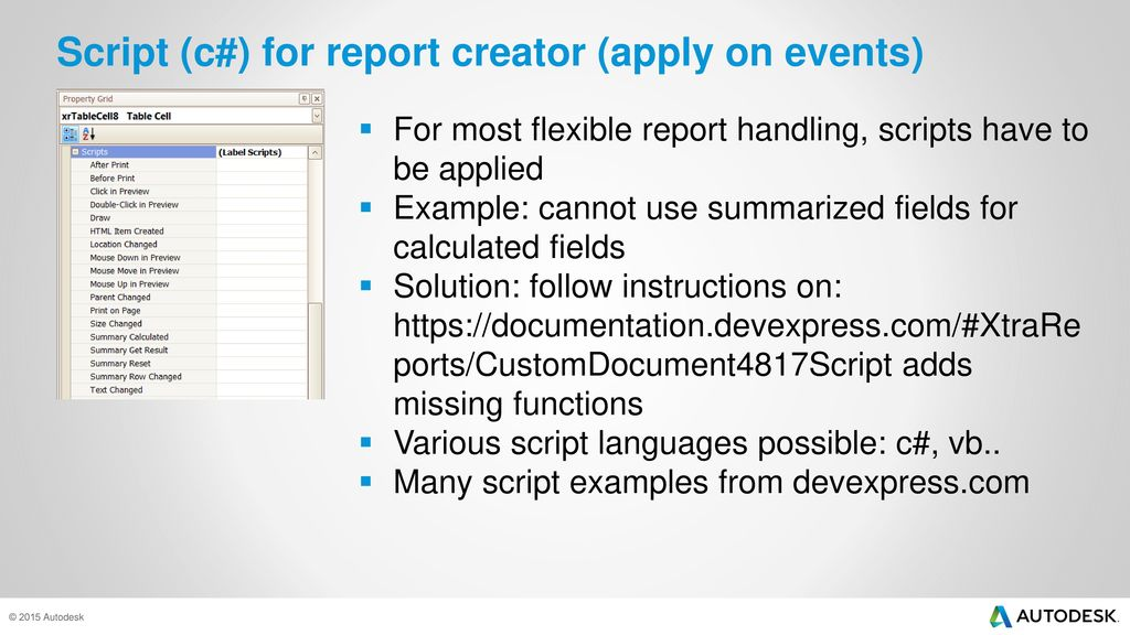 Plant 3d Reporting – Report Creator - ppt video online download