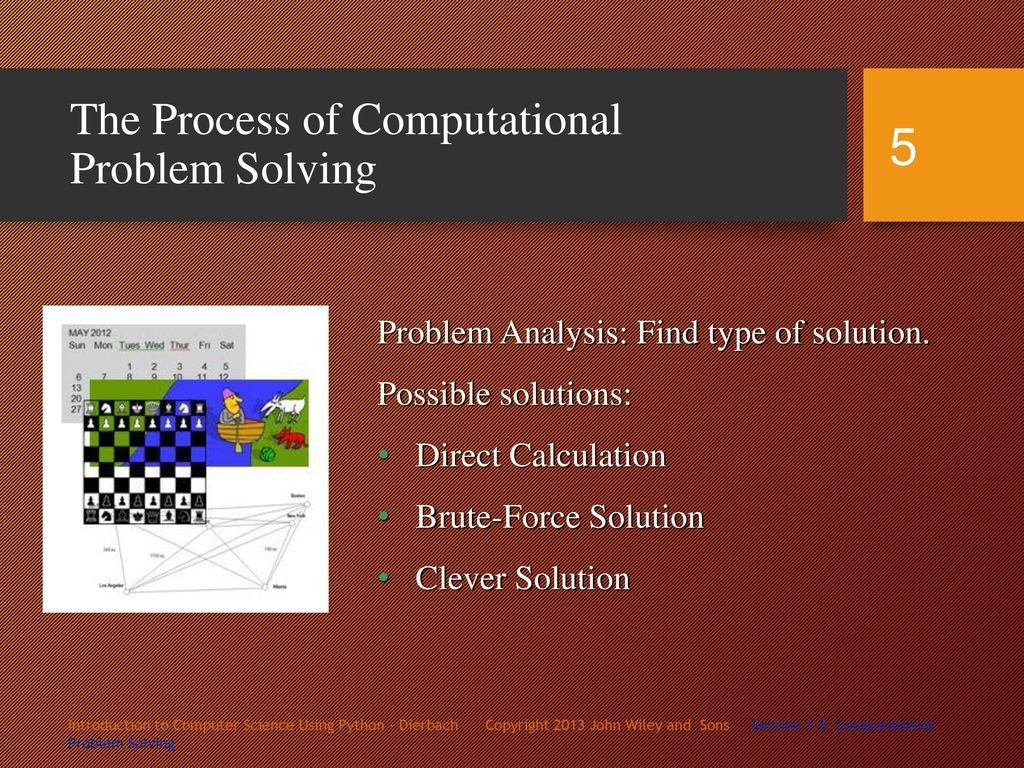 Computational Problem Solving Chapter 1, Sections - ppt video online
