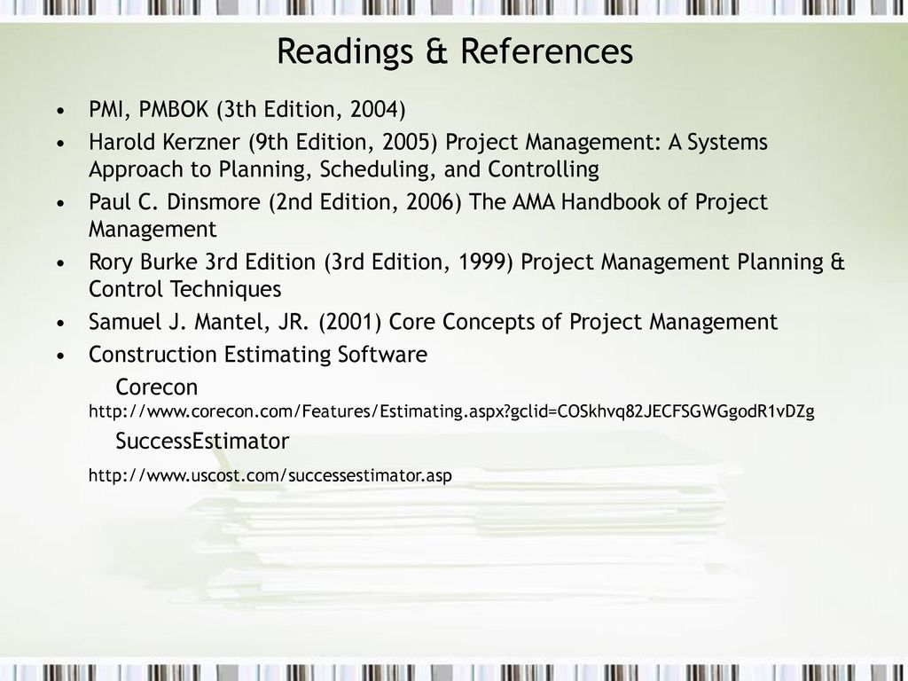 Financial Controls in Project Management - ppt download