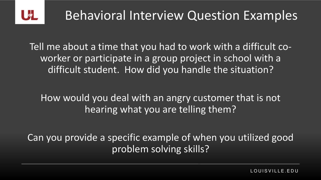 Types of Interview Questions ppt download